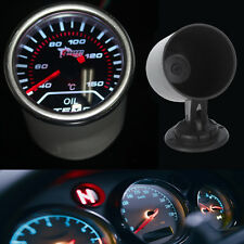 Auto KFZ LKW Öltemperatur LED Anzeige Öl Temp Instrument + Instrumentenhalter