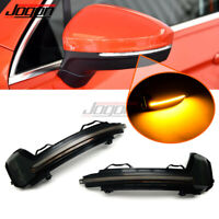 RelaxToday 2PCS LED Dynamic Indicator Blinker Mirror Rearview Turn Signal Light,For BMW 4 series F32 F33 F36 2014-2017