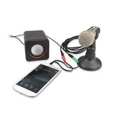 Headset Stereo Earphone Microphone Audio Splitter Cable Adapter Plug Jack
