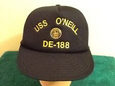 USS O'NEILL DE-188 US NAVY HAT NORTH PACIFIC CHAPTER PIN SEATTLE DESA CONVENTION