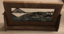 EXOTIC SANDS MOVING SAND ART ALDER WOOD WILLIAM TABER MADE IN UTAH SIGNED