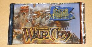 Warhammer WarCry CCG Siege of Middenheim Booster Pack New & Sealed