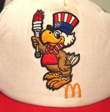 1984 OLYMPICS vtg trucker cap Los Angeles SAM THE EAGLE hat McDonald's OG
