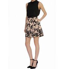 BNWT 🌹Coast🌹Size 16 Triste Skirt Mono Black Dusty Pink Evening Occasional 44EU
