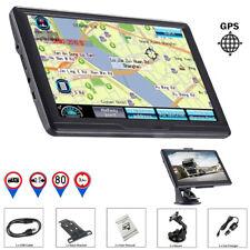 7'' Car Truck Sat Nav GPS Navigation 8GB Free Lifetime UK&EU Maps Touch Screen//