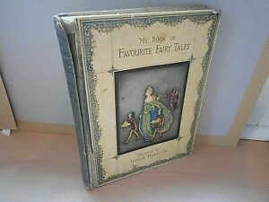 My Book Of Favourite Fairy Tales - Illustrated By Jennie Harbour - VERY RARE !