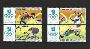 HONG KONG 1992 OLYMPICS SET WITH TABS-S.G. 696/9  MINT NEVER HINGED