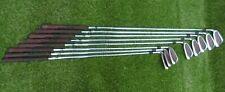 Howson Left hand  golf clubs - 9 irons - 3 - SW steel shaft