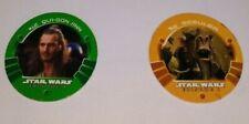 1999 STAR WARS EPISODE 1: THE PHANTOM MENACE GAME MEDALLIONS