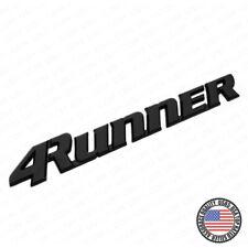 99-02 Toyota 4Runner Liftgate Emblem Badge Logo Tailgate Rear Letter Gloss Black
