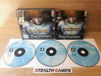 Galerians Ps1 PAL Double Case 3-Discs Black Label Sony Playstation 1 2000
