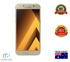 "Samsung Galaxy A7 2017 SM-720F - Gold (5.7"", 16MP, 32/3 GB) [Aus Stock] Unlocked"