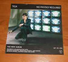 Tiga Sontag No Fantasy Required Poster Flat Original Promo 12x12 RARE