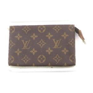 Louis Vuitton Monogram Cosmetic Pouch 3 pieces set 521437