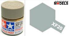 Acrylic Paint - Colore Acrilico Vernice 10ml XF-20 XF20 MEDIUM GREY 81720 Tamiya