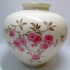 Alka Bavaria / Alboth & Kaiser Vase 50er Jahre Japanisch Kirschblüte handgemalt