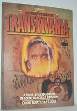 The Tourist's Guide To Transylvania Guide Of Count Dracula's Kingdom Book 1982