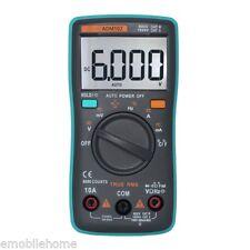ZT102 Multimètre Numérique True-RMS Température Capacitance Test LCD Grand écran