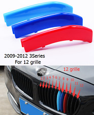 For BMW 2009-2012 3Series Front Center Grille Grill Cover Trim 3Color / 3pcs