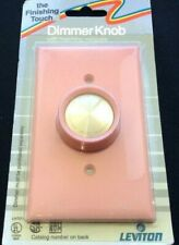 Leviton Pink Dimmer Spinner Knob NOS UL 87701