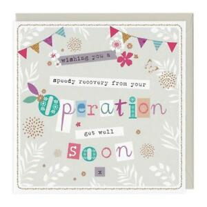 Wishing You A Speedy Recovery From Your Operation Greeting Card
