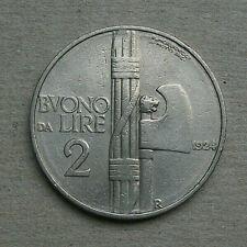 BUONO DA 2 LIRE 1924, Vittorio Emanuele III