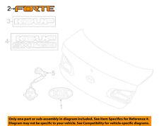 KIA OEM 14-16 Forte Koup Trunk Lid-Emblem Badge Nameplate 86311A7210