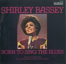 SHIRLEY BASSEY Born To Sing The Blues Vinyl Record LP Contour 6870 568 1970 EX