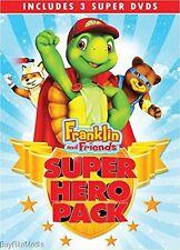 Franklin and Friends: Super Hero Pack (DVD, 2015, 3 Super DVDS)