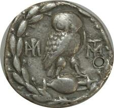 T9650 Very Rare Grecque Attica Athens Tetradrachm Sulla 86-84 BC Silver -M