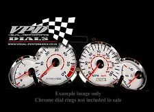 Peugeot 206 1.4 petrol speedo dash lnterior custom bulb lighting white dial kit