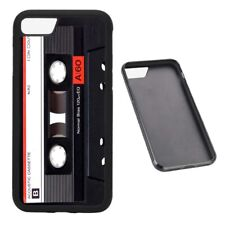 Cassette Tape retro RUBBER phone case fits iPhone