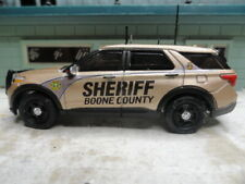 GREEN LIGHT POLICE SLICK TOP FORD EXPLORER SHERIFF BOONE COUNTY PLATE READER