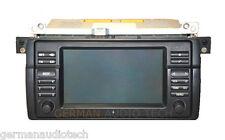 BMW NAVIGATION WIDE-SCREEN MONITOR RADIO 2002 03 04 05 06 E46 323 325 328 330 M3