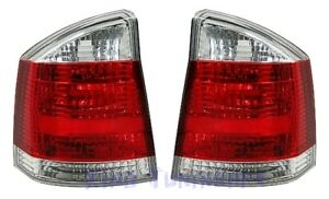 Lights Rear Red And Chromed Opel Vectra C GTS OPC
