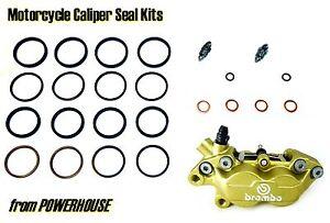 Ducati Supersport 900 900SS Superlight 1994 Brembo front brake caliper seal kit