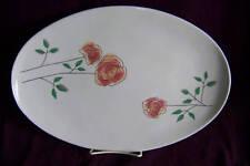 Iroquois Rosemary Seibel Informals oval platter serving china chop plate EUC