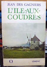Histoire de L'ILE-AUX-COUDRES / avec plan CHARLEVOIX Quebec Baie St-Paul / l'île
