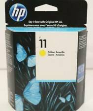 Genuine HP Ink Cartridge 11 Yellow