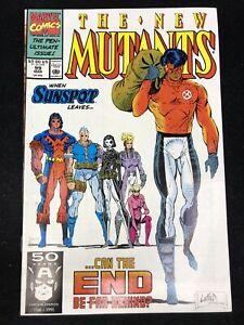 THE NEW MUTANTS #99 (Marvel 1991) 8.5 VF+