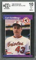 1989 Donruss #635 Curt Schilling Rookie Card BGS BCCG 10 Mint+