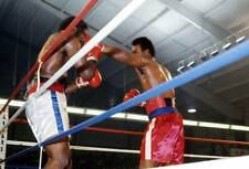 Old Boxing Photo George Foreman Lands A Punch Against Ron Lyle