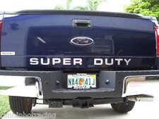 2008 - 2014 Super Duty Tailgate Insert Decal F-250 F-350 F-450 Stickers CHROME