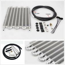 8-Row T-6061 Aluminum Car Vehicle Engine Remote Transmission Oil Cooler Radiator