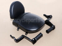 Passenger Pillion Seat Backrest Sissy Foot Pegs 4 Victory High Ball Gunner Judg