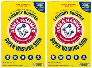 Super Washing Soda Booster Laundry Detergent Arm and Hammer 110-oz