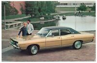 1968 Ford TORINO 4-DOOR SEDAN Original Dealer Promotional Postcard UNUSED VG+ ^