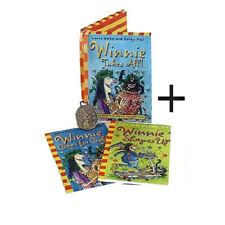 Winnie the Witch Collection 2 Books With Gift Coin ( Winnie Goes for Gold) NEW