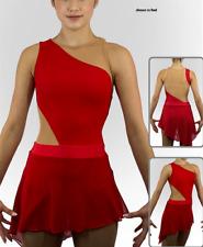 Stylish Ice Figure Skating Dress Baton Twirling Dance Dress Custom size h157