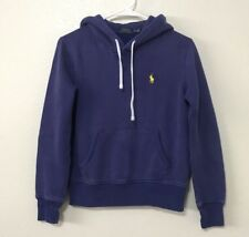 Polo Ralph Lauren Blue Hoodie Sweater Pullover Women's XS #J